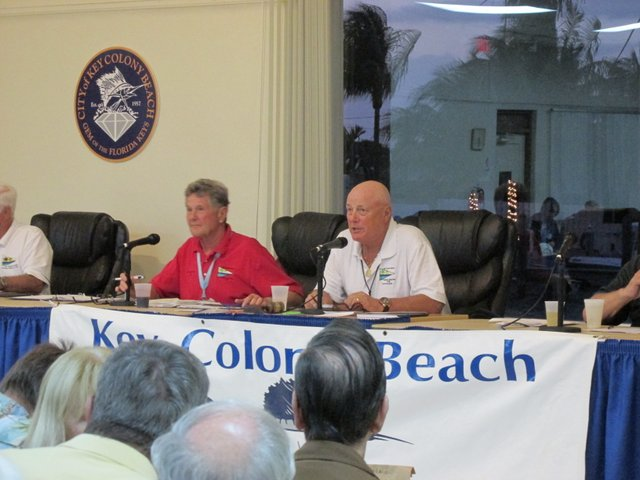 2016 Vice commodore Bob Warn and commodore Bill Knickman
